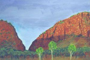 Simpson's Gap, near Alice Springs